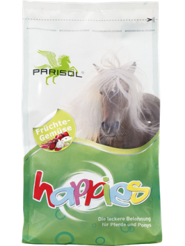Parisol delicious snacks  Happies fruit - vegetables