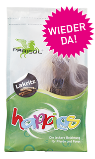 Parisol delicious snacks  Happies Licorice