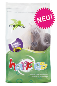 Parisol delicious snacks  Happies Pear-Grape