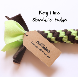 Key Lime Chocolate Fudge