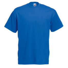 Tee-Shirt bleu royal