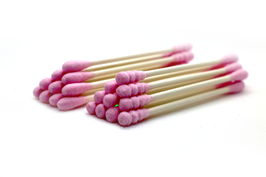 Cotton bud lint-free