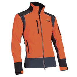 PSS X-treme Soft-Shell orange-grau