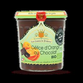 Bio-Orangen-Schokoladencreme, 350 g