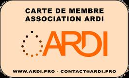 Adhérer à l'association ARDI