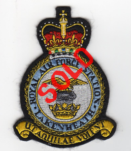 Royal Air Force Station crest patch RAF Lakenheath F-15C/D/E