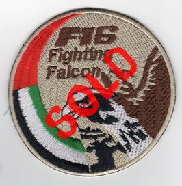 United Arab Emirates Air Force F-16 swirl patch