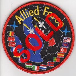 NATO patch Operation Allied Force 1999