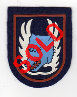 Belgian Air Force patch 1 Fighter Wing (1953-1976) Meteor, CF-100 Canuck