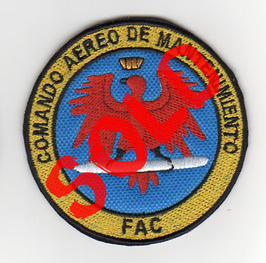 Colombian Air Force patch Comando Aereo De Mantenimiento