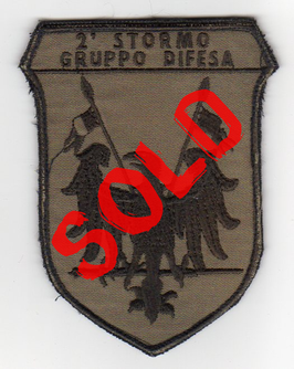 Italian Air Force patch 2° Stormo - Gruppo Difesa
