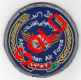 Afghanistan Air Force patch early version