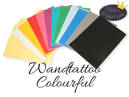"Wandtattoo Set ""Colorful"""