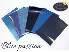 "Flex Folien Set ""blue passion"""