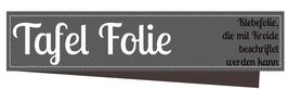 Selbstklebende Tafel Folie schwarz 21x30 cm