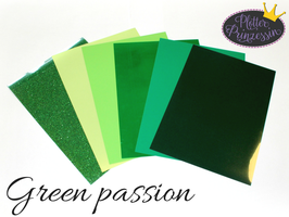 "Flex Folien Set ""Green passion"""