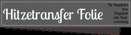 Hitze - Transferfolie