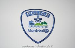 Patch Polizei Kanada Police Montréal
