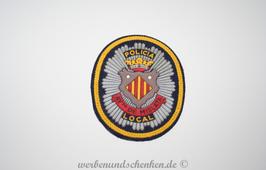 Patch 3D Rubber Patch Polizei Rathaus Spanien Mislata Policia Local Ayto de Mislata