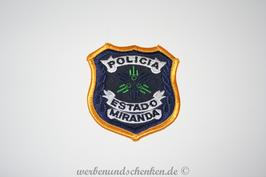 Patch Polizei Venezuela Policia Estado Miranda