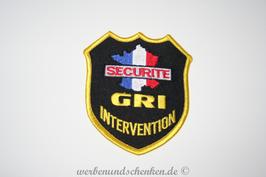 Patch Frankreich Securite GRI Intervention