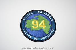 Patch Polizei Frankreich Police Nationale Police De Proximite 94