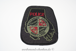 Patch Polizei USA Maryland Police Baltimore County Maryland