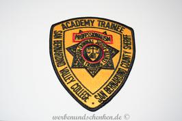 Patch Polizei USA San Bernardino Valley College Academy Trainee