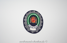 Patch 3D Rubber Patch Polizei Spanien Policia Local