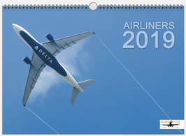 *** JANUARY SALE *** Airliners 2019 Wallcalendar DIN A3