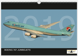 *** JANUARY SALE *** BOEING 747 JUMBOJETS 2019 Wallcalendar DIN A3