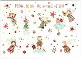 Fröhliche Weihnachten Engel