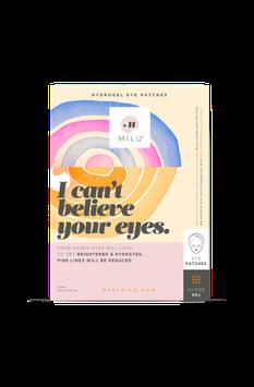 MILU Hydrogel eye pads (2 paar)