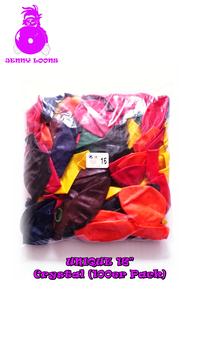 "UNIQUE 16"" Crystal (Mix-Pack)"