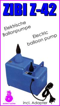 ZIBI Ballonpumpe Z-42