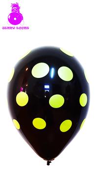 "CATTEX 11"" Polka Dots Neon (10er Pack)"