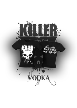 KILLER VODKA Ladies Tee