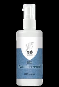 Raab Bio Nachtkerzenöl 100 ml in der Glaspumpflasche