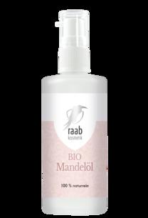 Raab Bio Mandelöl 100 ml in der Glaspumpflasche