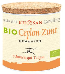 Khyosan Echter Bio Ceylon-Zimt gemahlen