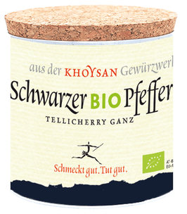 Khyosan Bio Schwarzer Pfeffer ganz