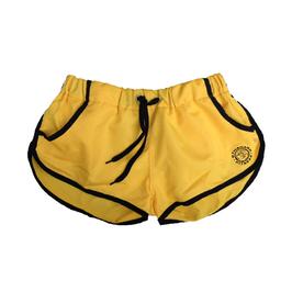 GymShark Luxe Shorts gelb/schwarz
