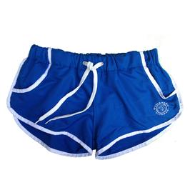 GymShark Luxe Shorts blau/weiß