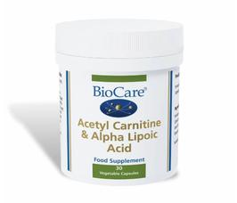 BioCare Acetyl Carnitine & Alpha Lipoic Acid 30 Caps