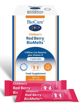 BioCare Children´s Red Berry BioMelts - 1 Sachet als Muster