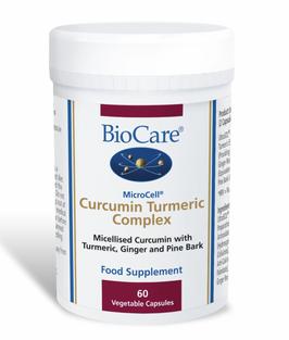 BioCare MicroCell® Curcumin Tumeric Complex (60 Capsules)