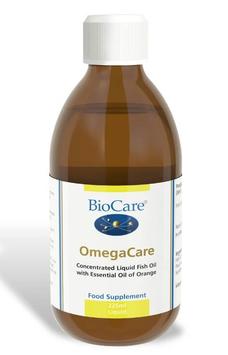 BioCare OmegaCare (Flüssiges Fischöl mit Orange) 225ml