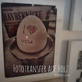 "Kurs ""Fototransfer auf Holz"""