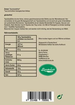 Bio - Tapiokastärke 250g
