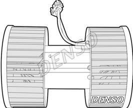 Kachelmotor BMW  E46 X3 Denso